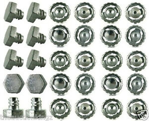 30 Beyblade Metal Fusion Fight Masters Bolts Tip Launcher Spare Parts USA Seller