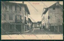 Biella Mongrando cartolina QQ6392