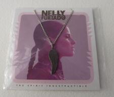"Nelly Furtado ""The Spirit Indestructible"" Necklace w/Pendant Signed Sealed NEW"