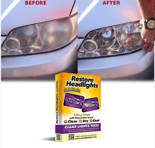 Scheinwerfer Aufbereitungs Set Headlights Restore Wipes