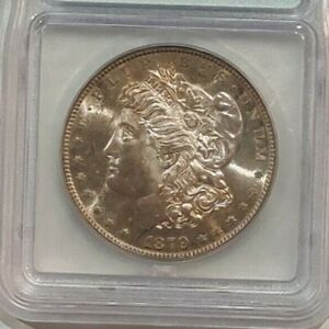 1879  $1 Morgan Silver Dollar  ICG MS 64 + ~~ Amazing Tone See Pics ~~ (508)