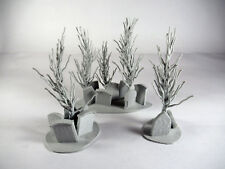 Graveyard Tree Terrain for 28mm Wargames and Role Playing games (Set of 3)