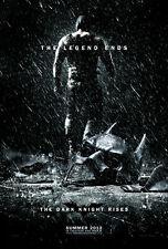 """BATMAN THE DARK KNIGHT RISES 11""""x17"""" MOVIE POSTER PRINT #6"""