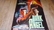 DARK ANGEL ! dolph lundgren affiche cinema science fiction