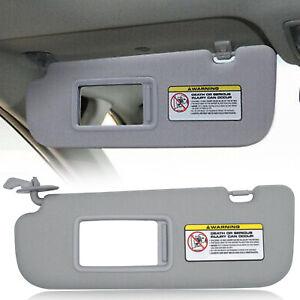852203X000TX Sun Visor Driver Left Side Gray For HYUNDAI ELANTRA MD UD 2011-2015