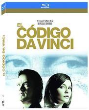 El codigo da Vinci Code Blu-ray Bluray nueva precintada Tom Hanks dan Brown
