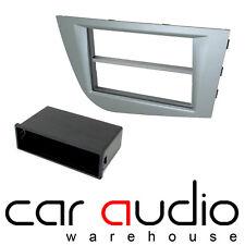 Seat Leon Mk2 05-09 Car Stereo Single Din Fascia Panel Galena Silver CT24ST26