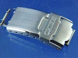 Seiko Watch Deployment Bracelet Buckle & Catch ... 1990s S Wave 16mm Fitting