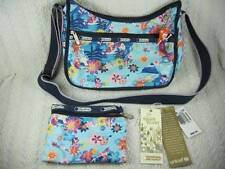 LeSportsac Disney Tahitian Dreams Small World Mermaid Classic Hobo w Charm & Tag