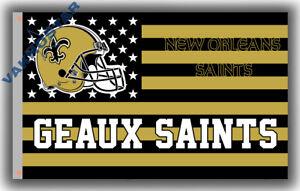 New Orleans Saints Geaux football team Memorable flag 90x150cm 3x5ft banner