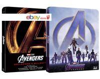 AVENGERS LA COLLEZIONE COMPLETA STEELBOOK 4 FILM (6 BLU-RAY + GADGET) 2 BOX