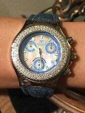 100% Authentic TechnoMarine Millenium Special Edition Diamond Bezel Womens Watch