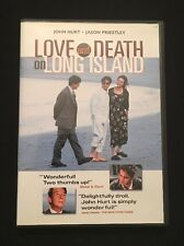 Love & Death on Long Island DVD In MINT Condition FREE Shipping! 1996 RARE & OOP