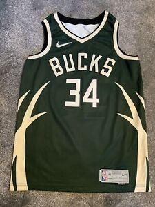 Antetokounmpo Nike Swingman Milwaukee Bucks Earned Edition Jersey NBA