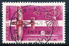 TIMBRE FRANCE OBLITERE N° 1341  AVIATION DE TOURISME Photo non contractuelle