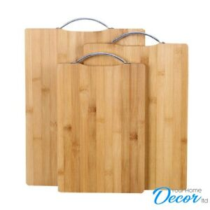 Bamboo Chopping Board Easy Grip Handle Small -  Medium - Large - Extra Large
