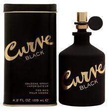 Liz Claiborne Curve Black For Men Cologne 4.2 oz ~ 125 ml Spray ~ New in Box ~