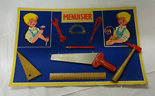 Panoplie outils jouet ancien Outils de menuisier jamais utilisé MIB