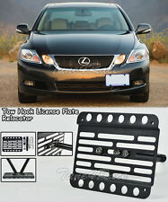 For 06-11 Lexus No PDC Tow Hook License Plate Bracket GS300 350 430 450H 460