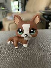 Littlest Pet Shop - CORGI  #2150 - Brown & White with Green Eyes - LPS