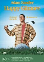 Happy Gilmore -Rare DVD Aus Stock -Family New Region 4