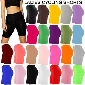 WOMENS CYCLING SHORTS ACTIVE WEAR DANCING VISCOSE SOFTWEAR STRETCHABLE COMFYWEAR