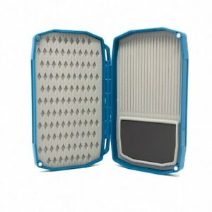 UMPQUA UPG LT HIGH MINI MAGMIDGE FLY BOX IN BLUE - WITH 3D TPE INSERTS & MAGNET