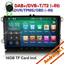 "9"" Android 8.1 GPS DAB+OPS Autoradio Für VW Passat Polo Golf Tiguan Jetta Touran"