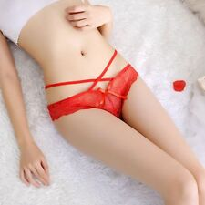 Sexy Women Lace V-string Briefs Panties Thongs G-string Lingerie Underwear Hot