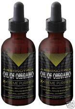 2 Bottles of Absonutrix Wild Oregano Oil 85% Carvacrol Super Strength immunity