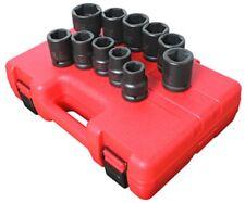 "Sunex Tools   4682 11 Piece 3/4"" Drive Truck Impact Socket Set Sae Sizes"