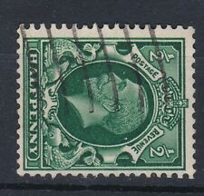 1934-36 GV 1/2d PHOTOGRAVURE WMK SIDEWAYS USED SG439a (2)