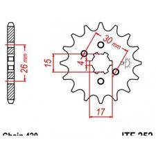 Pignon acier 14 dents jt chaîne 420 honda crf80f Jt sprockets JTF252.14