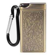 Mini Ashtray Cigarette Portable Keychain Ring Pocket Smoking Ash Tray Gold
