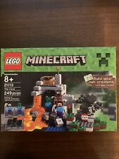 Lego Minecraft 21113 The Cave - Brand New with damaged box