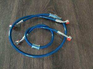 HONDA 1987-1988 NSR 250 R SE SP GALFER STAINLESS STEEL REAR BRAKE LINE KIT