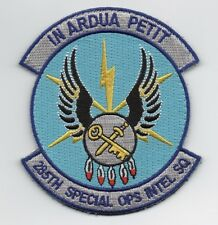 """USAF Patch 285th SPECIAL OPERATIONS INTELLIGENCE SQUADRON, 4"""" Size"""