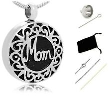 Funeral cremation Urn,Memorial Cremation Jewelry,Pendant,Keepsake for Ashes,MOM