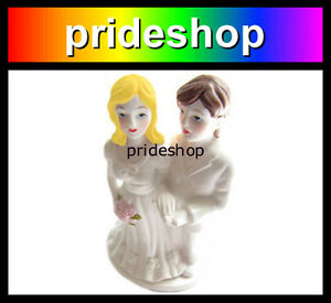 Lesbian Marriage Wedding Women Same Sex Female Union Cake Topper Decoration #751