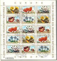 RUMÄNIEN 1983 VFU Flora und Fauna der Europäische Naturschutzgebiete Kleinbögen