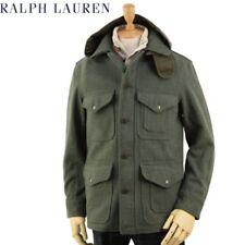 POLO - Ralph Lauren - Wool Blend Military Jacket - XL - Green - Tweed - $500