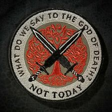 Not Today morale patch (tree of life edition)