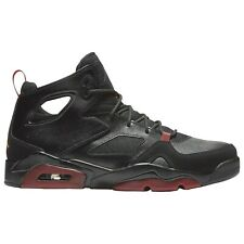 Nike Air Jordan Flight Club '91 Black Red Dandelion 555475-067 Mens Size 13