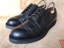 Red Wing 101 Heritage Work Postman Oxfords Mens Black Chaparral Shoes Size 8.5 C