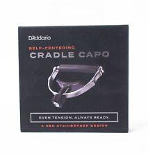 D'Addario Cradle Capo Stainless Steel Capo with Adjustable Micrometer