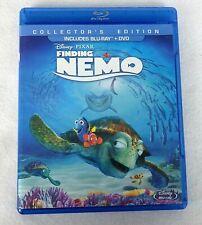 Finding Nemo Blu-ray/Dvd 3-Disc Set New Sealed