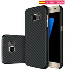 Funda para Samsung Galaxy S7  Nillkin Synthetic Fiber - Carcasa Fibra de Carbono