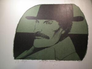 Munch by Leonard Baskin Inscribed For Robert From Leonard