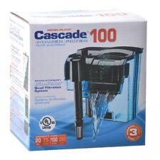 LM Cascade 100 Hang-on Power Aquarium Filter Up to 20 Gallons (100 GPH)