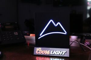 COORS LIGHT NEON BAR DESKTOP SIGN, PERFECT FOR MANCAVE AND GAME ROOM